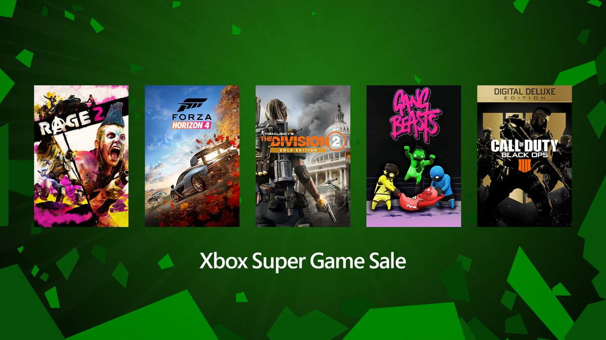 Xbox Super Game Sale