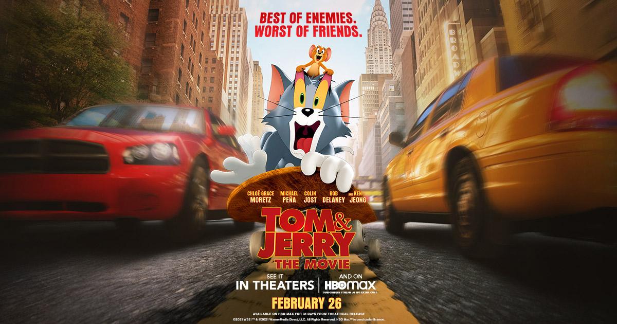 Tom a Jerry 2021 - recenzia