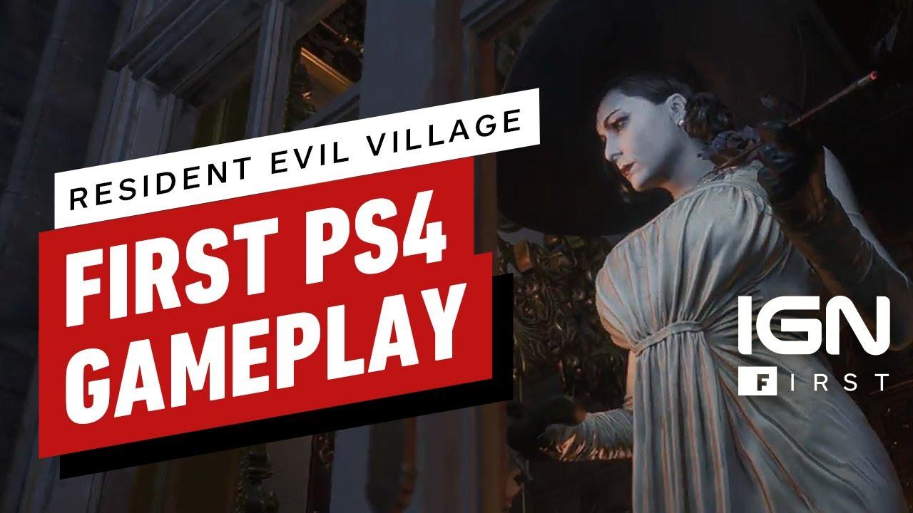 Resident Evil Village PS4 Pro
