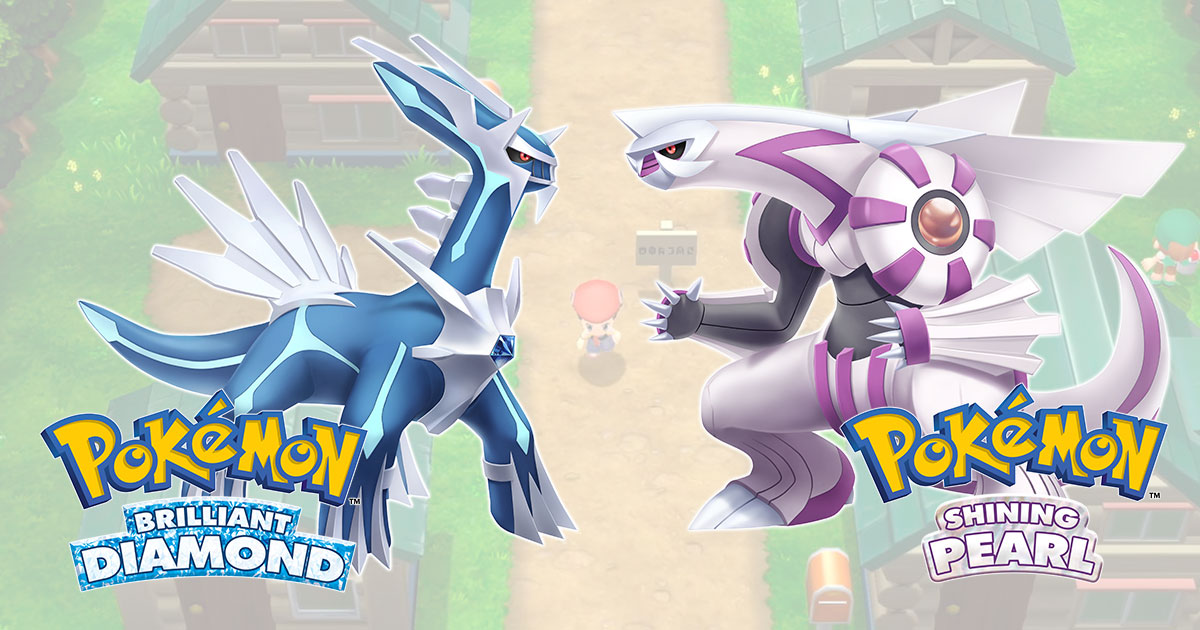 Pokémon Brilliant Diamond , Pokémon Shining Pearl