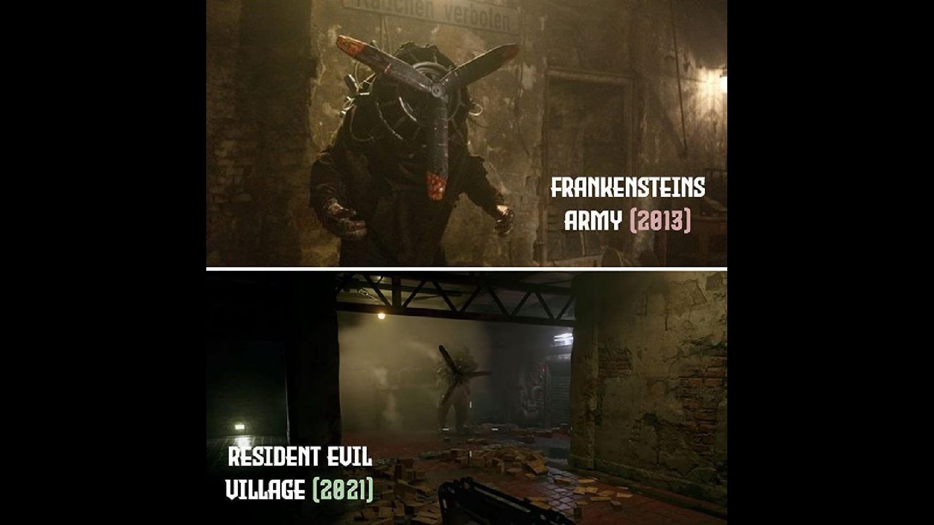 Resident Evil Village vs Frankenstein's Army