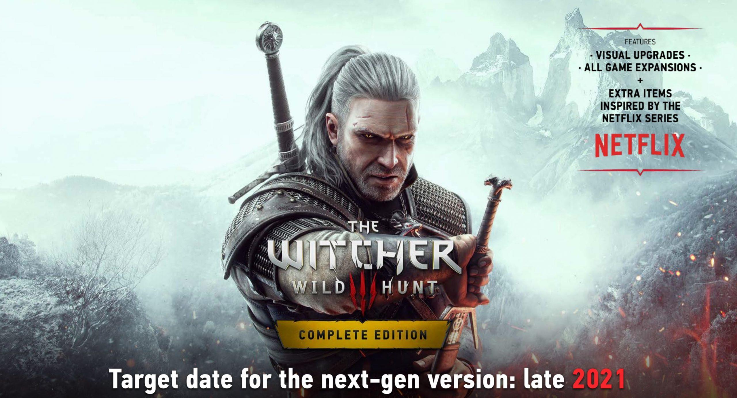 The Witcher 3 / Cyberpunk 2077 - nextgen